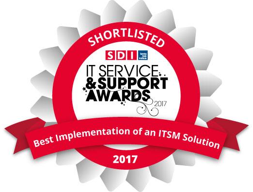 ITSM-Solution-Shortlisted