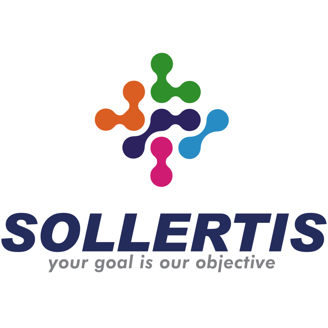 Sollertis Logo links above